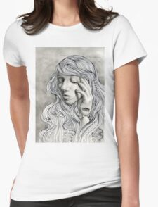 Cassandra's Sorrow  Womens Fitted T-Shirt