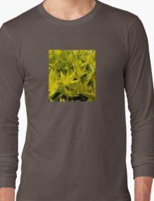 Neon Macro Succulent  Long Sleeve T-Shirt