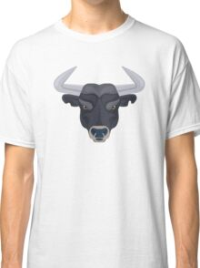 Graphic angry bull Classic T-Shirt