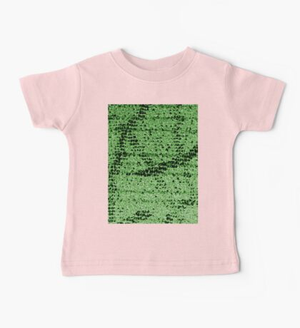 Abstract Green Baby Tee