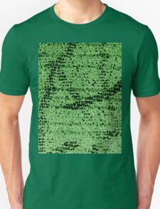 Abstract Green Unisex T-Shirt