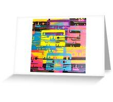 Rainbow Mixed Tape  Greeting Card