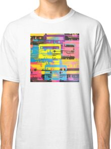 Rainbow Mixed Tape  Classic T-Shirt