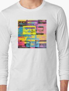 Rainbow Mixed Tape  Long Sleeve T-Shirt