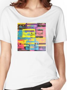 Rainbow Mixed Tape  Women's Relaxed Fit T-Shirt