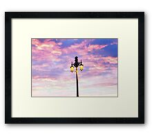 Brighton Lamp Framed Print
