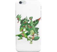 treecko's family iPhone Case/Skin