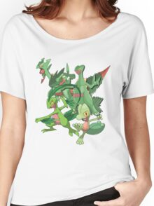 treecko's family Women's Relaxed Fit T-Shirt