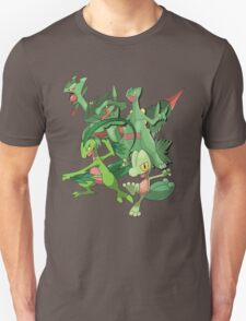 treecko's family Unisex T-Shirt