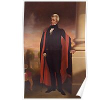 Andrew Jackson Painting Poster