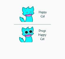 Happy Cat on Drugs Unisex T-Shirt