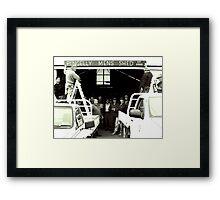 Pingelly Mens Shed, est 2009 Framed Print