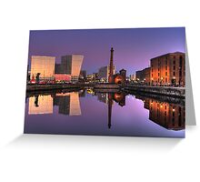 Pumphouse Liverpool Greeting Card