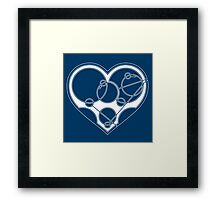 Say It With Gallifreyan Framed Print