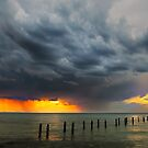 Storm clouds over Corio Bay  by Hans Kawitzki