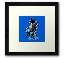 Lucario Framed Print