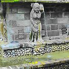 Balinese Fountain Statue by JodieT