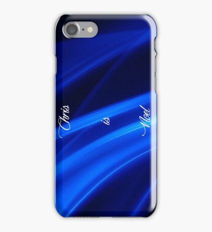 Chris is Noel 02 iPhone Case/Skin