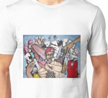 ...And even with eyes forced shut............ Unisex T-Shirt