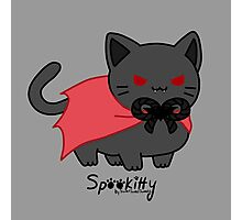 Sweet Treat Kitties - Spookitty Photographic Print