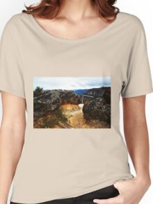 Entrance to Tarpeian Rock Women's Relaxed Fit T-Shirt
