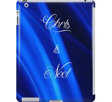 Chris is Noel 04 iPad Case/Skin