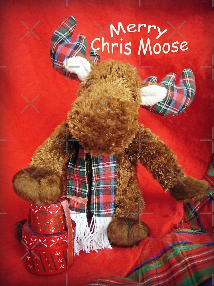 Merry Chris Moose by Susan S. Kline