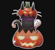 Jack O' Lantern Cat by SaradaBoru