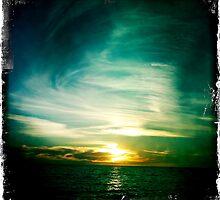 Spiraling clouds by Benjamin Liew