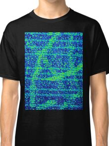 Abstract Blue Classic T-Shirt