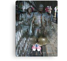 Vietnam Memorial - Names & Faces Canvas Print