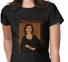 Amalia Rodrigues - Music born in the soul Womens Fitted T-Shirt