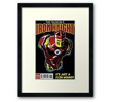 The Iron Knight Framed Print