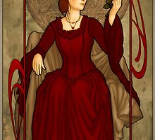 Queen of Hearts by ArtNouveau
