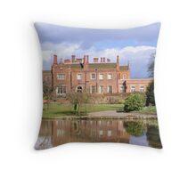 Hodsock Priory Throw Pillow