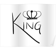 Crowned King Poster