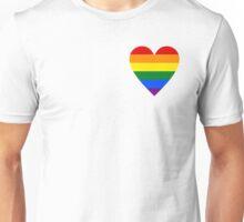 LOVE WINS  (Pride Heart) Unisex T-Shirt