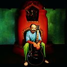 Cheech Marin at Home by YoPedro