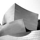 Disney Hall - BW by Antonio Zarli