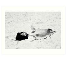 A day at Bondi Beach Art Print