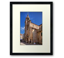 Cathedral of St. Mark Framed Print