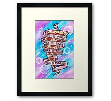 Pizza is Knowledge - Full Framed Print