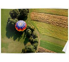 Hot air balloon Poster