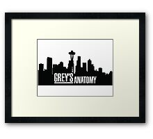 Grey's Anatomy Framed Print