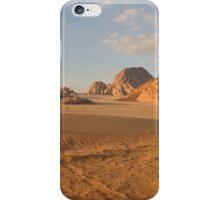 Desert landscape iPhone Case/Skin