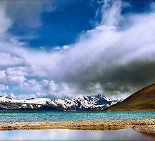 Lake Tso Moriri by soumen