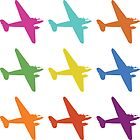 Retro Airplane Flight Print by planespotting