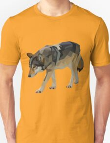 Crystalline Timber Wolf Unisex T-Shirt