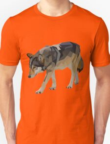 Crystalline Timber Wolf T-Shirt
