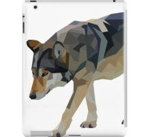 Crystalline Timber Wolf iPad Case/Skin